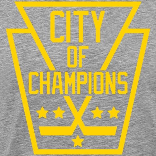 Pittsburgh City of Champions - Men's Premium T-Shirt