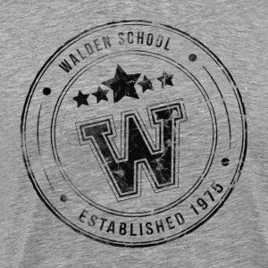Walden School Stamp - Men's Premium T-Shirt