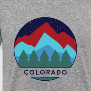 Colorado Mountains Nature Hike - Men's Premium T-Shirt