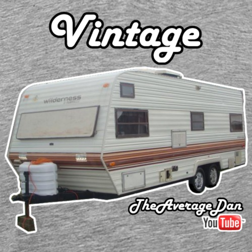 Vintage Camper - Men's Premium T-Shirt