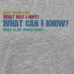 Philosphical Questions - Men's Premium T-Shirt