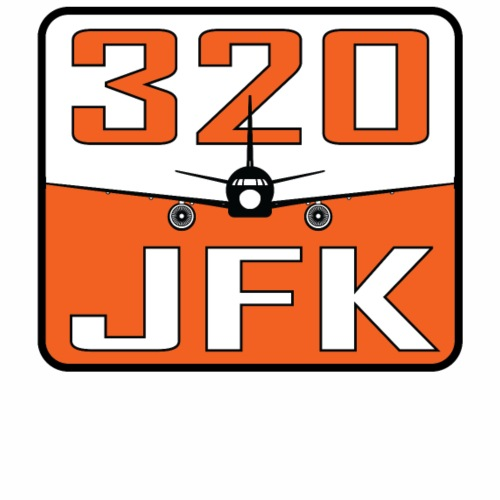 JFK 320 - Men's Premium T-Shirt