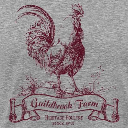 Heritage Poultry - Men's Premium T-Shirt
