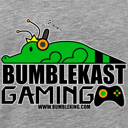 BumbleKast Gaming Logo - Men's Premium T-Shirt