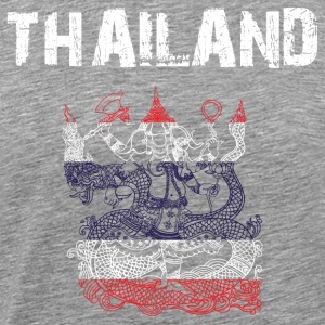 Nation-Design Thailand Shiva - Men's Premium T-Shirt