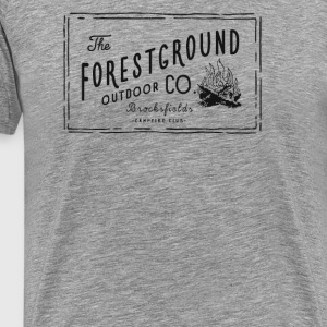 Forest Ground Campfire - Men's Premium T-Shirt
