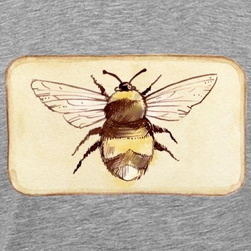 Toasty Bee on a Toast - Men's Premium T-Shirt