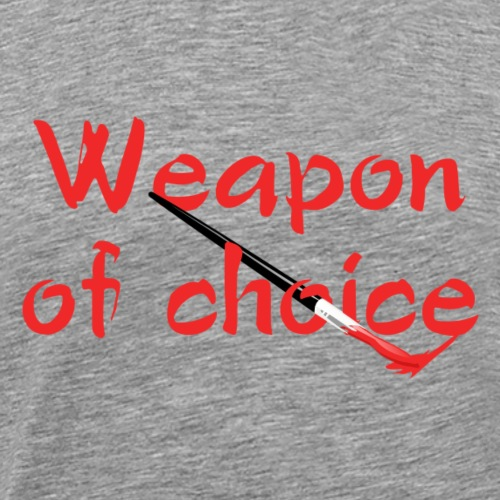 weapon of choice - Men's Premium T-Shirt