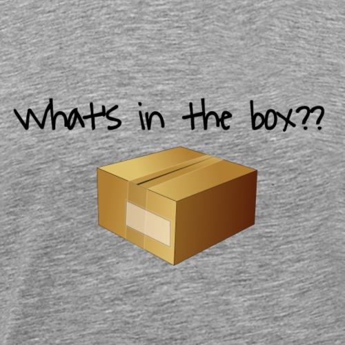 What's in the Box? - Men's Premium T-Shirt