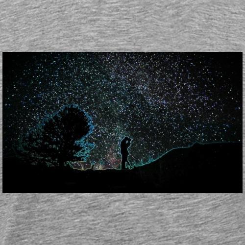 Star Gazing Lovers - Men's Premium T-Shirt