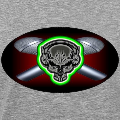 PIPEBOMB CROSSED MICS - Men's Premium T-Shirt