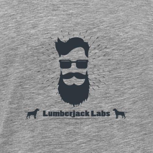 Simple Lumberjack Labs Black - Men's Premium T-Shirt
