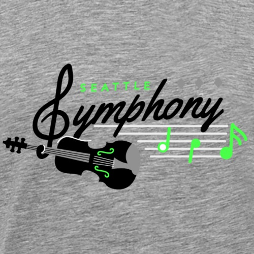 Seattle Symphony - Men's Premium T-Shirt