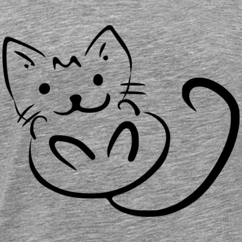 Little Cat - Men's Premium T-Shirt