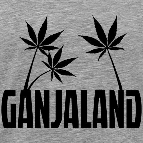 Ganjaland Logo - Men's Premium T-Shirt
