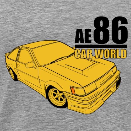 Toyota AE86 - Men's Premium T-Shirt