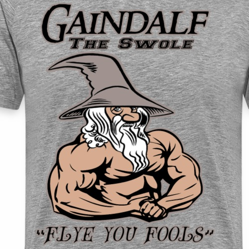 Gaindalf the Swole - Men's Premium T-Shirt
