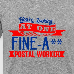 Fine-A** Postal Worker - Men's Premium T-Shirt