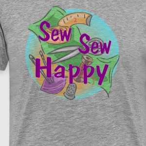 Sew Sew Happy - Men's Premium T-Shirt