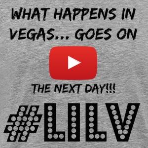 Happens in Vegas Goes on Youtube Black - Men's Premium T-Shirt