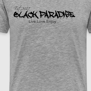 Black Paradise Tee - Men's Premium T-Shirt