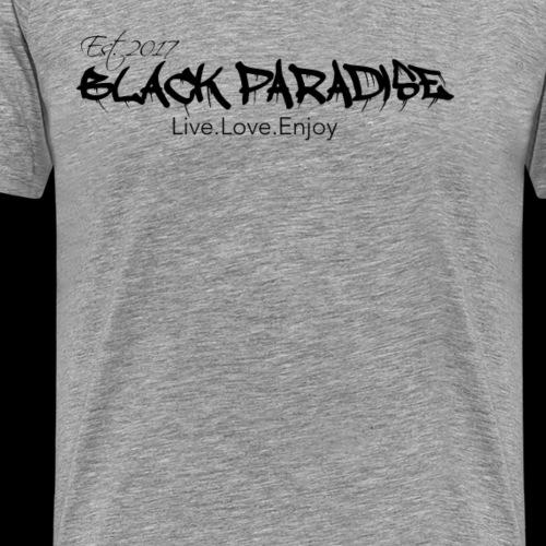 Black Paradise Tee - Men's Premium T-Shirt