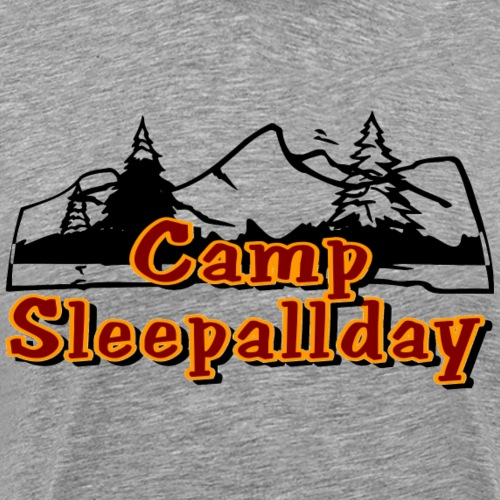 Camp SleepAllDay - Men's Premium T-Shirt