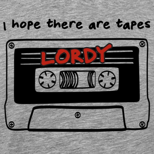 Lordy Tapes - Men's Premium T-Shirt