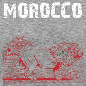 Nation-Design Morocco Lion - Men's Premium T-Shirt