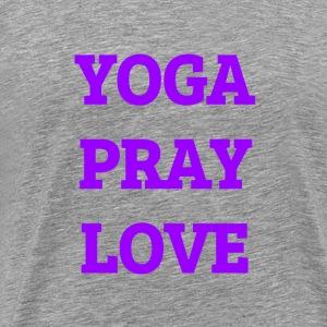 Yoga Pray Love - Men's Premium T-Shirt