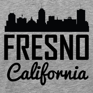 Fresno California Skyline - Men's Premium T-Shirt