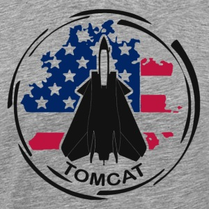 Aircraft F14 Tomcat - Men's Premium T-Shirt