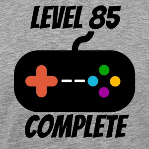 Level 85 Complete 85th Birthday - Men's Premium T-Shirt