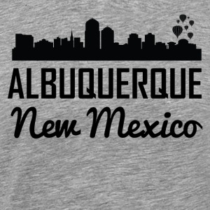 Albuquerque New Mexico Skyline - Men's Premium T-Shirt