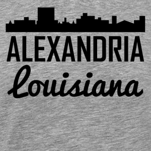 Alexandria Louisiana Skyline - Men's Premium T-Shirt