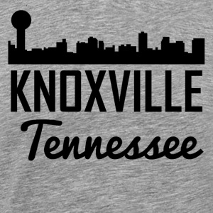 Knoxville Tennessee Skyline - Men's Premium T-Shirt