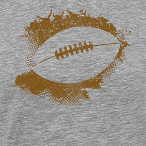 Football Paint Splatter - Men's Premium T-Shirt