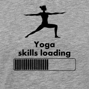 Yoga Skills Loading - Men's Premium T-Shirt