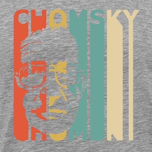 Retro Chomsky - Men's Premium T-Shirt