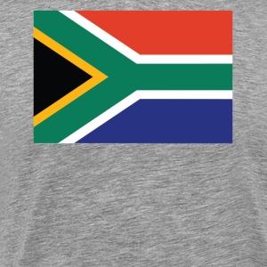 Flag of South Africa Cool South African Flag - Men's Premium T-Shirt