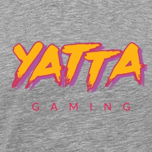 Yatta Brushstroke (Shadow) - Men's Premium T-Shirt