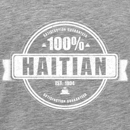 100% Haitian - Men's Premium T-Shirt
