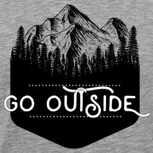 Go Outside - Men's Premium T-Shirt