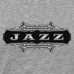 silver jazz - Men's Premium T-Shirt