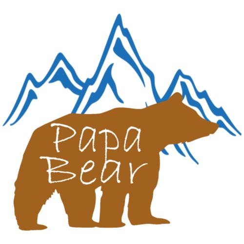 PapaBear - Men's Premium T-Shirt