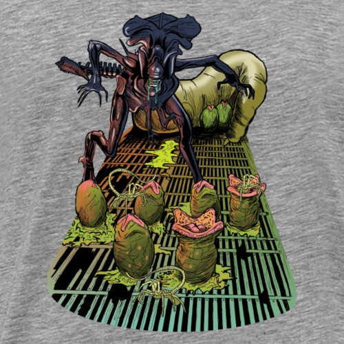 Xenomorph Queen - Men's Premium T-Shirt