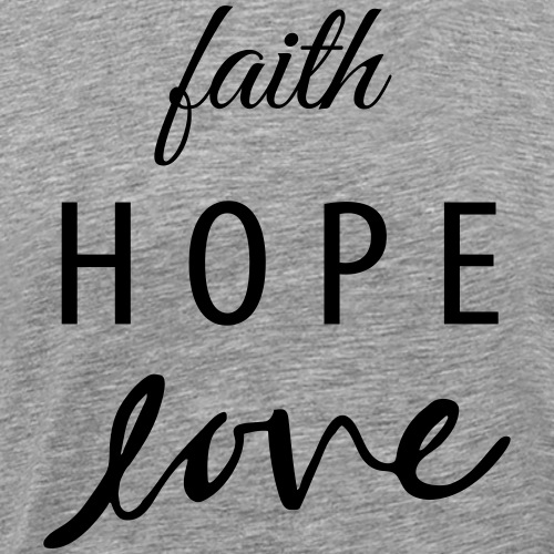 Gateway | Faith Hope Love - Men's Premium T-Shirt