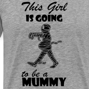 Pregnant Mummy - Men's Premium T-Shirt