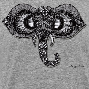 Elephant by Natasa - Men's Premium T-Shirt