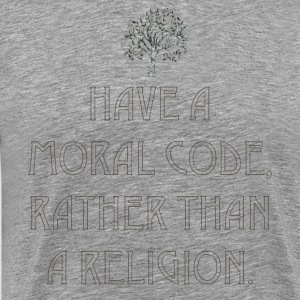 Religion / Morals - by Fanitsa Petrou - Men's Premium T-Shirt